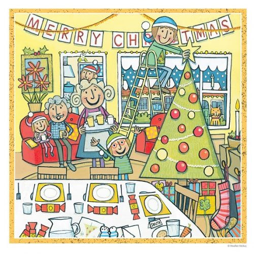 Merry Christmas Heather McKay Christmas Card 2021