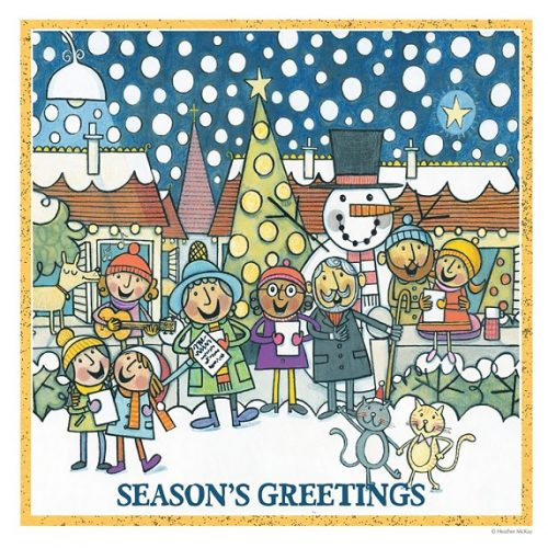 Seasons Greetings Heather McKay Christmas Card 2021